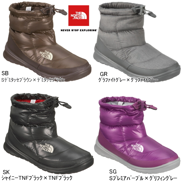 1874e6247 North face boots nu PSI women's boots THE NORTH FACE W NUPTSE BOOTIE 4  SHORT NFW01272 snow-