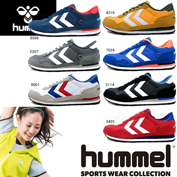 Hummel 反射罗湖运动鞋 hummel 反射男士女士低切 sneake-