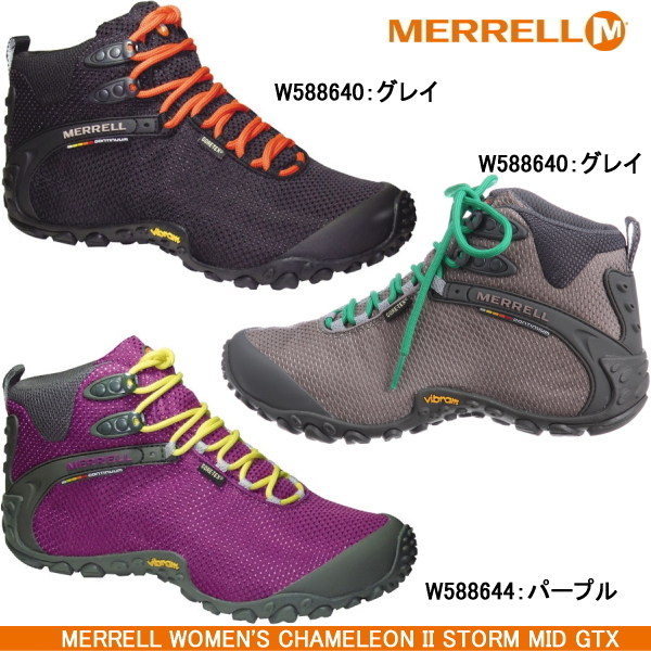eae0c5f382b Merrell trekking shoes Womens MERRELL WOMENI'S CHAMELEON II STORM MID GTX Merrell  Chameleon 2 storm Gore ...