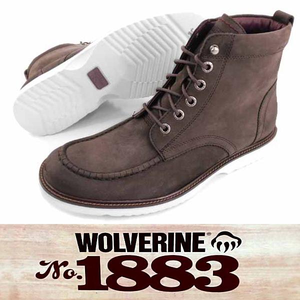 "□ 狼獾模拟脚趾 6""楔 W05432 [TIG] 男性工作 bootswolverin"