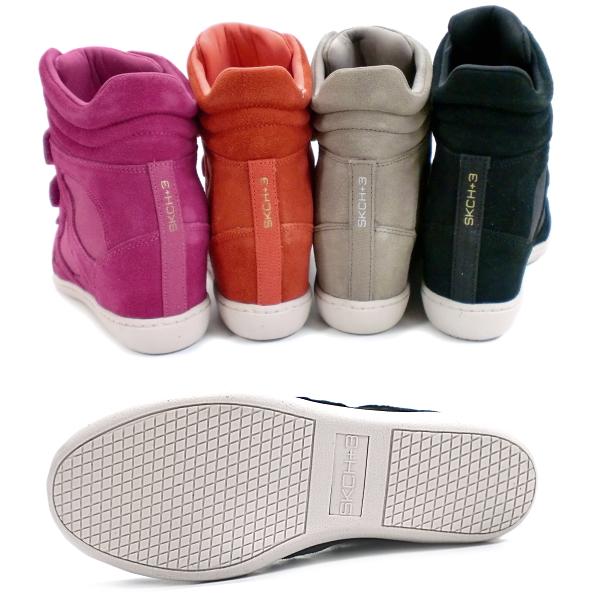 在她的运动鞋凯奇形状 ups 在她的球鞋斯凯奇 SKCH 加 3 提高栏 [48094] SKCH + 3 上升酒吧风格伊莎贝尔 marant 运动鞋妇女鞋鞋女士运动鞋-