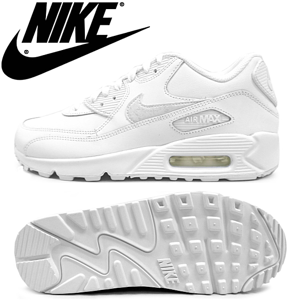 air max 90 white junior