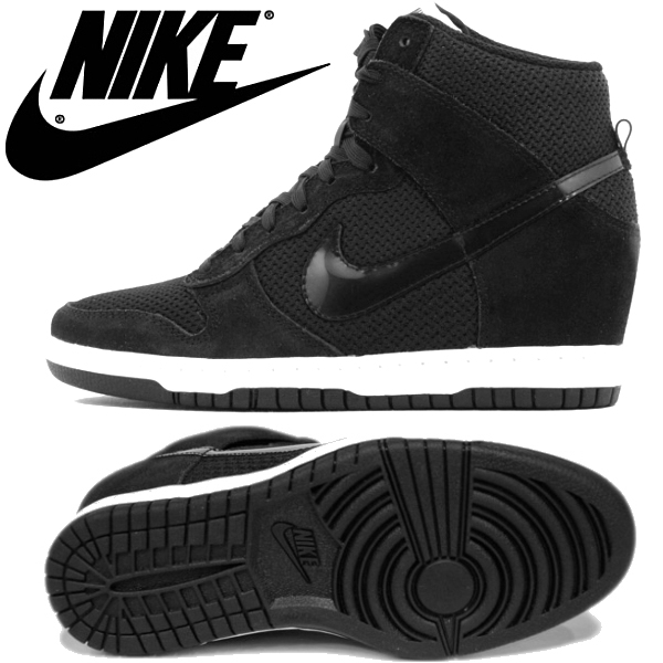 black dunk sky hi