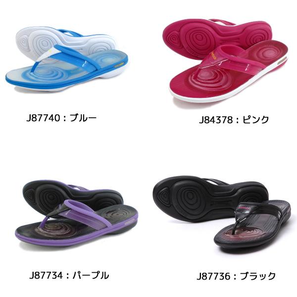 Reebok easy tone Womens plus Reebok EASYTONE PLUS FRIP flip shape up diet sandal sandal-