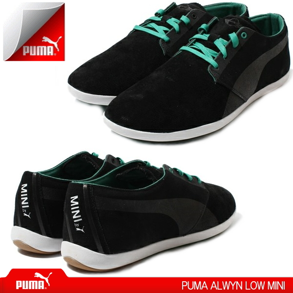 4f2e13b5f7b3 PUMA sneakers mens PUMA ALWYN LOW MINI 304389 01 Darwin Lowe mini shoes  sneaker-
