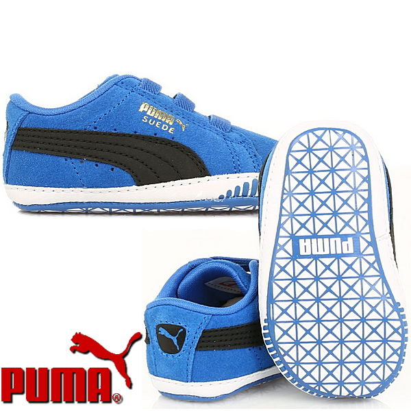 474d4333f463 PUMA sneakers kids suede PUMA suede crib 355965 shoes shoes baby gift  supply-children