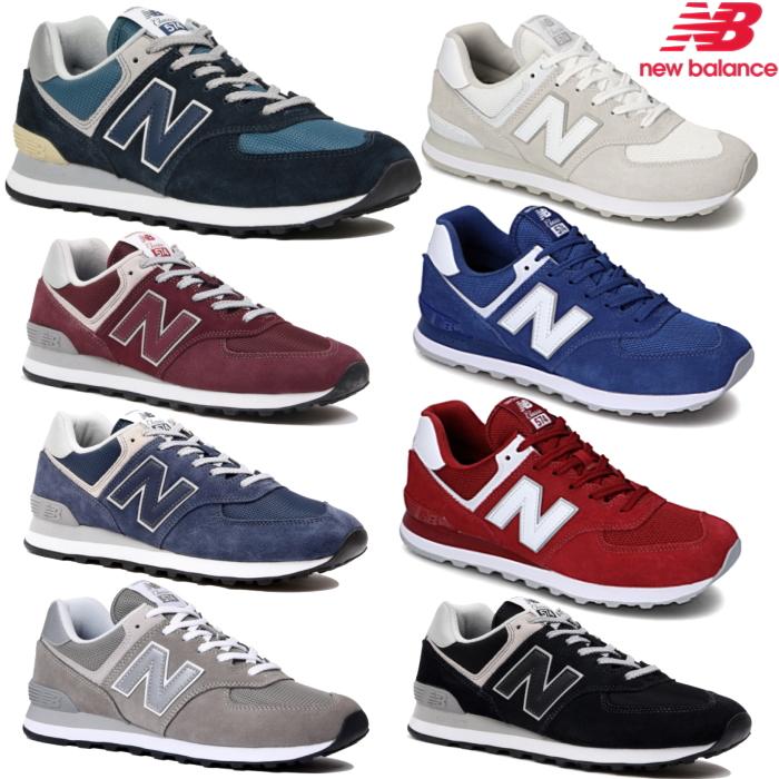 ニューバランス メンズ レディース スニーカー 本日限定 sneaker ML574 最新号掲載アイテム グレー Balance ネイビー New おしゃれ
