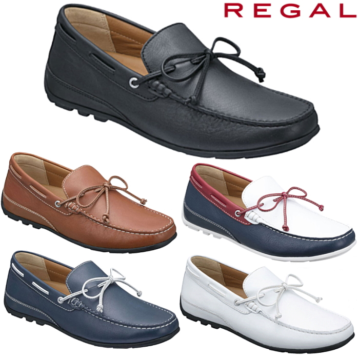 日本最大級の品揃え リーガル カジュアルスリッポン ドライビングシューズ メンズ REGAL ドライビング AF 靴 再販ご予約限定送料無料 55PR シューズ
