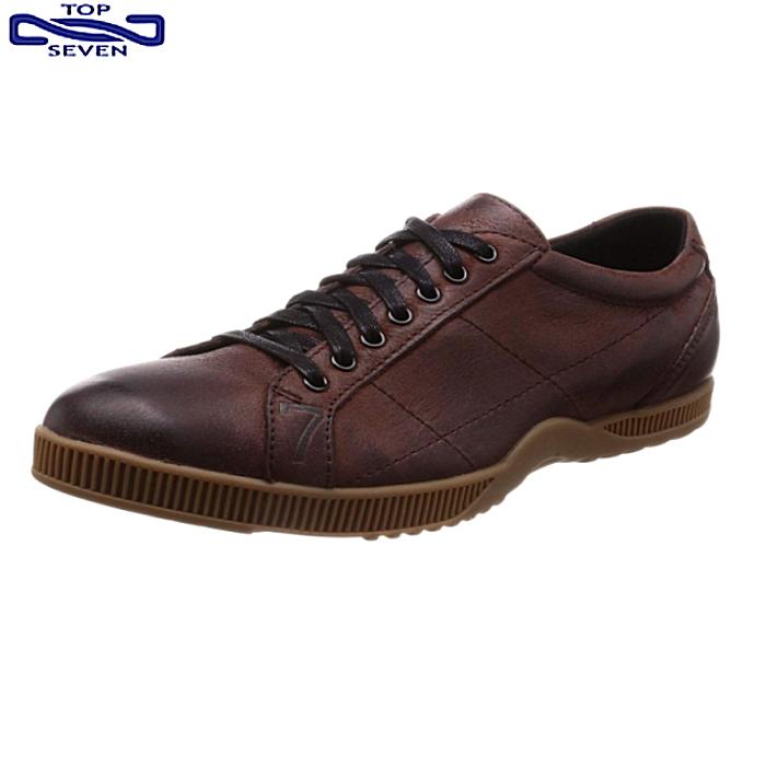 トップセブン TOP SEVEN TS-2101 Vintage メンズ レザー カジュアル スニーカー 靴