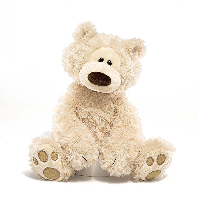 Fluffy birthday gift Stuffed Teddy bear Winnie touch women GUND Gund  authorised shop Philbin bear plush ☆ c33ab0eaa0