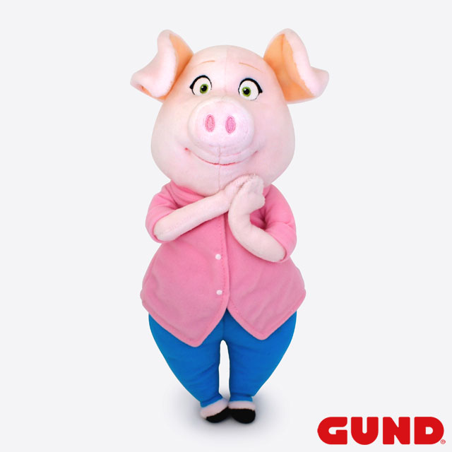 Universal Studios Movie Thing Goods Lid Pig Pig Pig Gund Company Authorized Japanese Regular Sole Agent 4059850 Including The Movie Sing Character