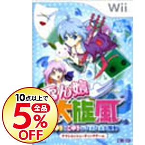 【中古】Wii 雪ん娘大旋風 -さゆきとこゆきのひえひえ大騒動-