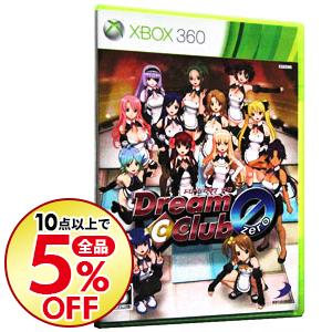 10点購入で全品5%OFF 中古 10%OFF Xbox360 高級品 DREAM ZERO C ドリームクラブ CLUB