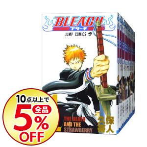 【中古】BLEACH-ブリーチ- <全74巻セット> / 久保帯人(コミックセット)
