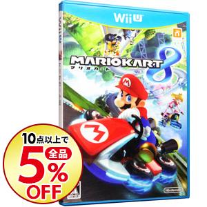 10点購入で全品5%OFF 中古 実物 Wii 正規品送料無料 U マリオカート8