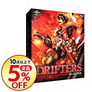 【中古】【Blu-ray】DRIFTERS Blu-ray BOX / 鈴木健一【監督】