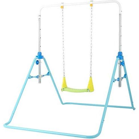 屋内 屋外どちらでも使用できます 正規激安 ワールドWORLD 折りたたみ 室内遊具 ブランコ鉄棒 至上 野中製作所