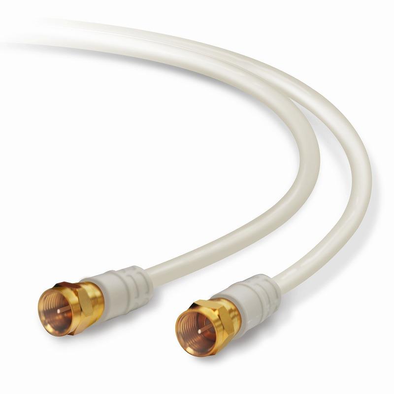 お得な10個セット DXアンテナ テレビ接続ケーブル2M 期間限定 F形プラグ+F形プラグ ×10個 B 4JW2FFS 2020新作