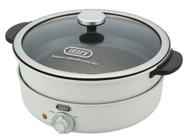 高価値 感謝価格 Toffy おしゃれでレトロな電気グリル鍋