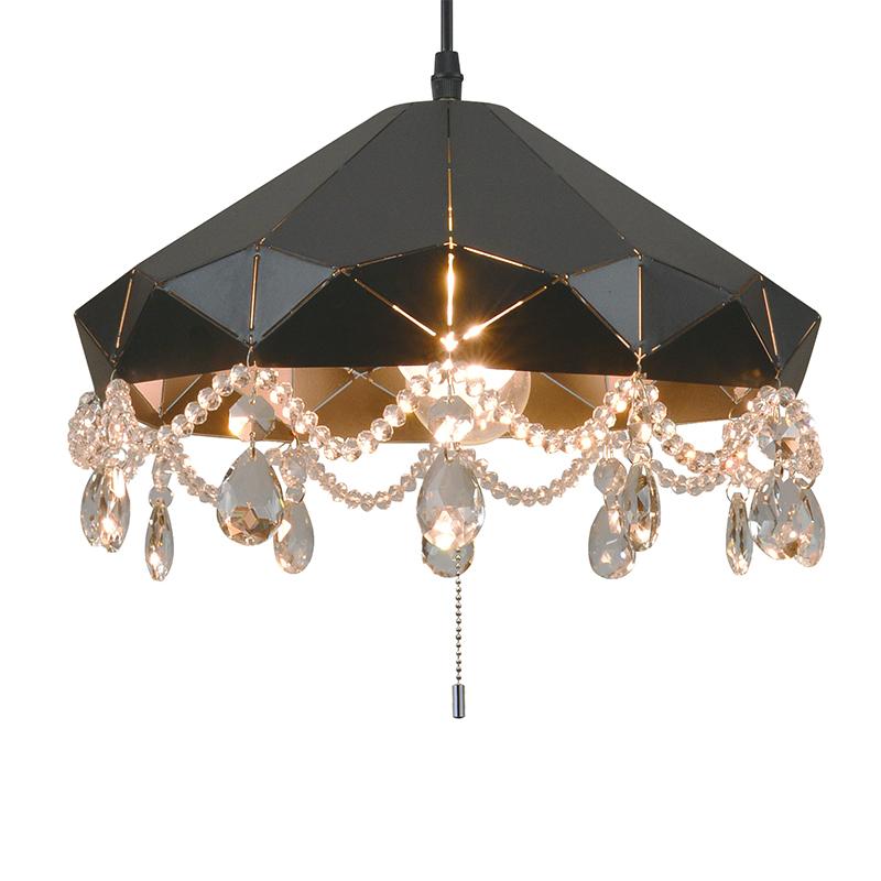 ペンダントライト LED電球対応 2灯 メタルペンダント シャンデリア風 ライト リビング おしゃれ キラキラ 北欧 インテリア照明 (メーカー直送、代金引き不可)