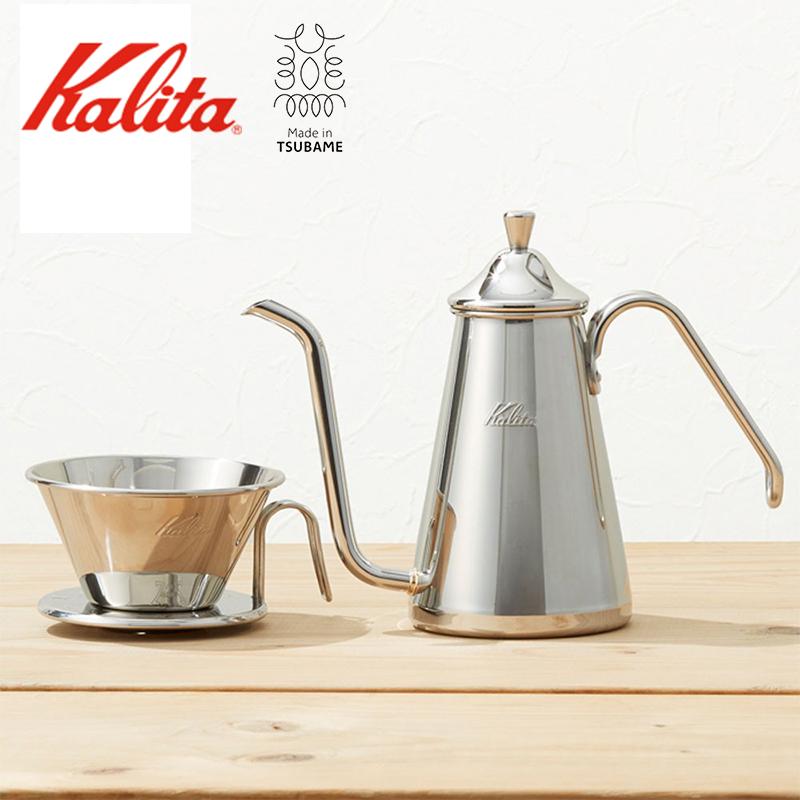 TSUBAME & kalita ドリップポット スリム 700SS カリタ ステンレス 珈琲 コーヒー 日本製