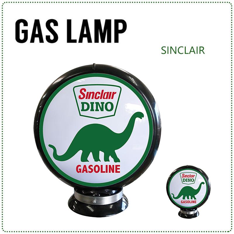 GAS LAMP ガスランプ ガス灯 ライト ガスポンプ ガソリンスタンド 電飾 置物 雑貨 アメリカ おしゃれ インテリア(メーカー直送、代金引き不可)