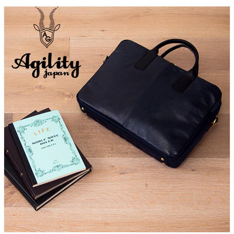 AGILITY affa アジリティ アファ 日本製 ビジネスバッグ ビジネストート ブリーフケース PCバッグ メンズ ペガーズ ホースレザー 本革 馬革 プレゼント 手作り品