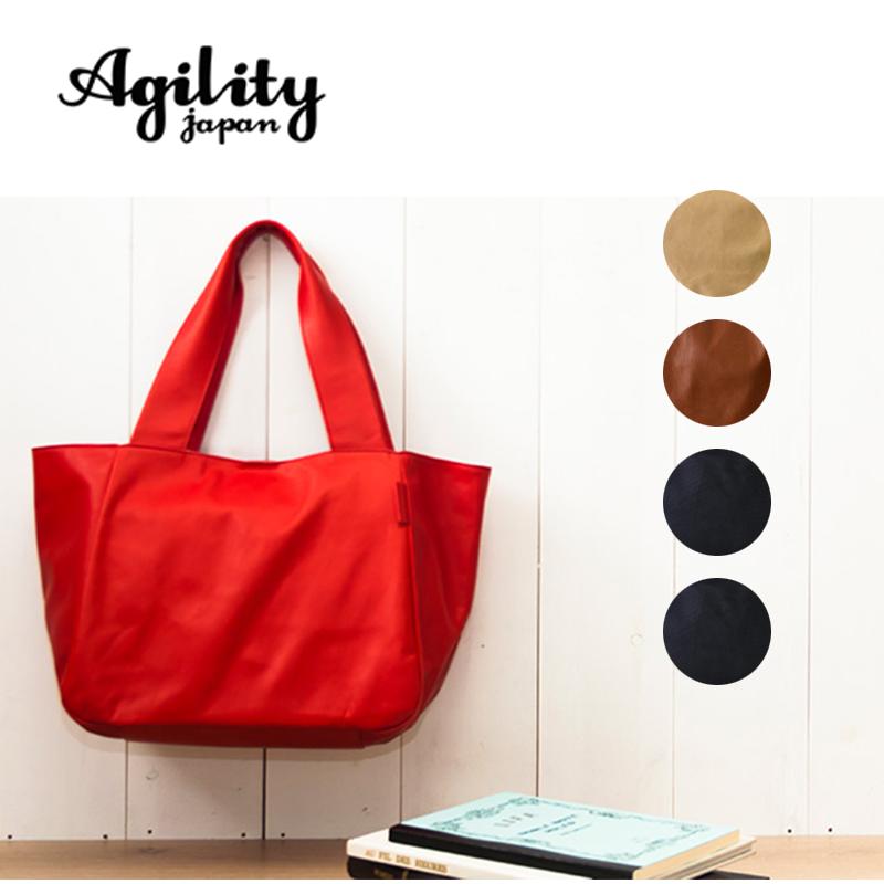 AGILITY affa アジリティ アファ 日本製 本革 馬革 ホースレザー 軽量 トートバッグ トート バッグ レディース