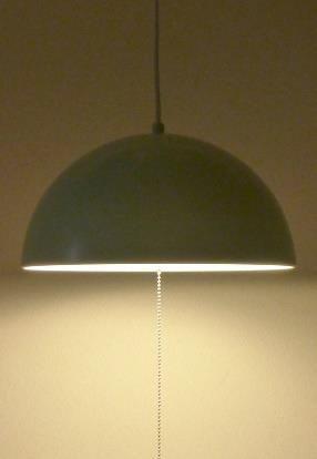ペンダントライト ドーム イシグロ LED電球付き