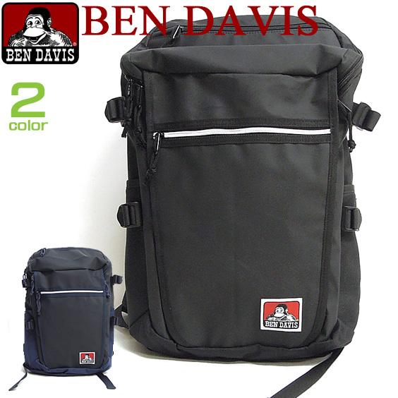 BEN DAVIS バックパック ベンデイビス リュック ベンデービス 豊富なポケットが収納力抜群のリュックサック。マットな素材がお洒落。安定感のあるスクエアタイプがスタイリッシュなデザインのデイパックが登場です。 BEN-748