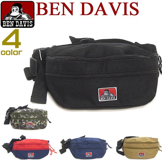 本 · 大衛斯袋 Ben Davis 袋 ★ Ben Davis 在腰袋。 可用在男性和女性的休閒包是雙拉鍊設計時尚、 可愛休閒袋。 ⇒ 本 453
