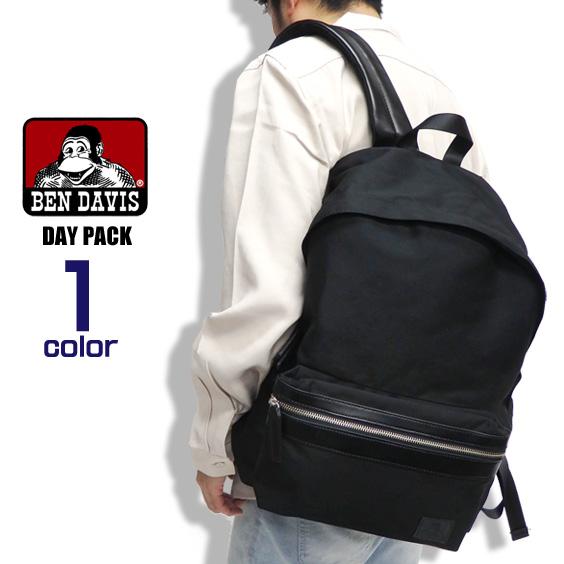 BEN DAVIS バックパック ブラックラベル リュックサック デイパック ベンデイヴィス カバン 通勤 通学 メンズ ベンデビ 背面メッシュ リュック シンプル レディース 鞄 ツイル地 バッグ 小物アイテム BEN-1258