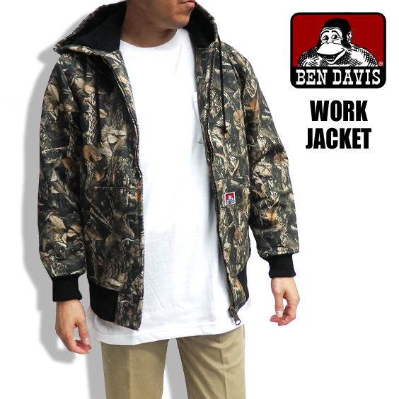 190c868bb287 renovatio: BEN DAVIS jacket brand tag work jacket men Ben Davis ...