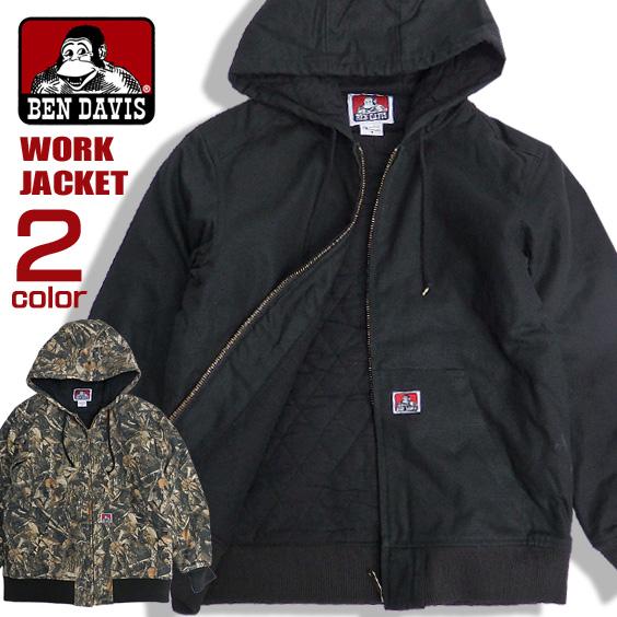 17b3ebbaf0a4 BEN DAVIS jacket brand tag work jacket men Ben Davis outer batting lining  quilting men jacket ...