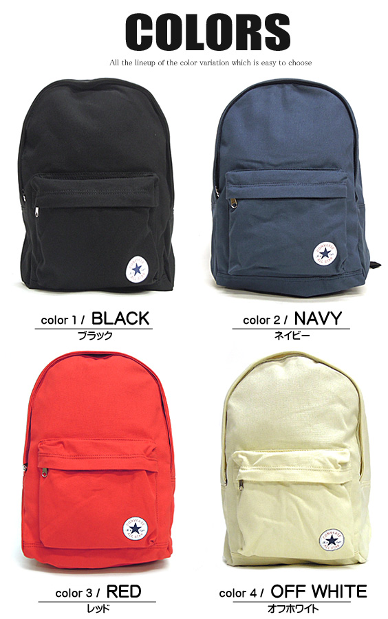 renovatio  CONVERSE backpack converse backpack ☆ converse canvas ... c2f54d907598a