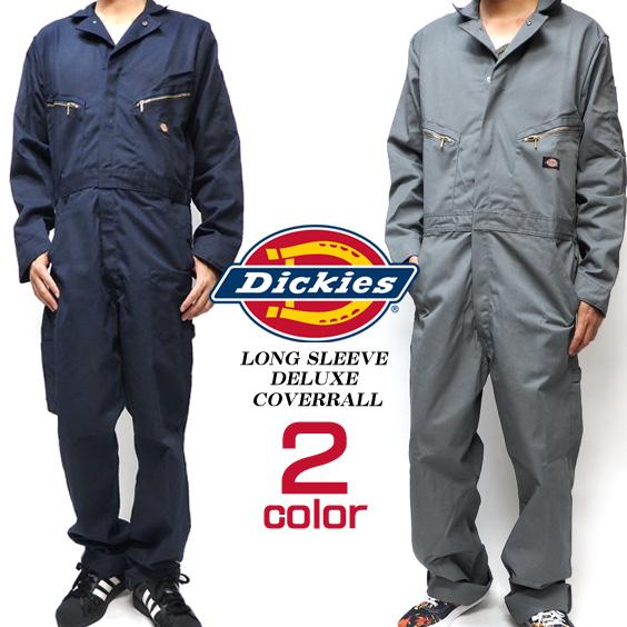 DICKIES カバーオール ディッキーズ つなぎ ★ Dickies ポケットが豊富で機能性抜群のオールインワン シンプルなデザインでかっこいい ワークウェアとしても使える しっかりとした素材でハードワーク用にも 48799⇒DICKIES-48799