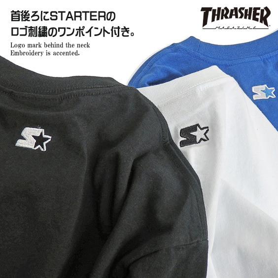 942c0f40f94c renovatio: THRASHER T-shirt slasher long sleeves T-shirt men STARTER ...