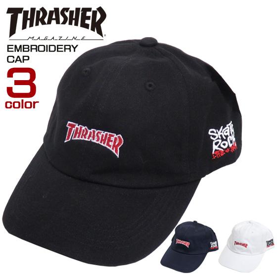 0df3f2f6302 Fashion skater thrasher magazine casual coordinates THRASHER-1051 of THRASHER  cap logo embroidery hat men slasher logo low cap Lady s accessory street ...