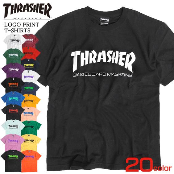 b52f4730a71b Slasher magazine skater brand thrasher magazine skater fashion THRASHER-016  of THRASHER T-shirt ...
