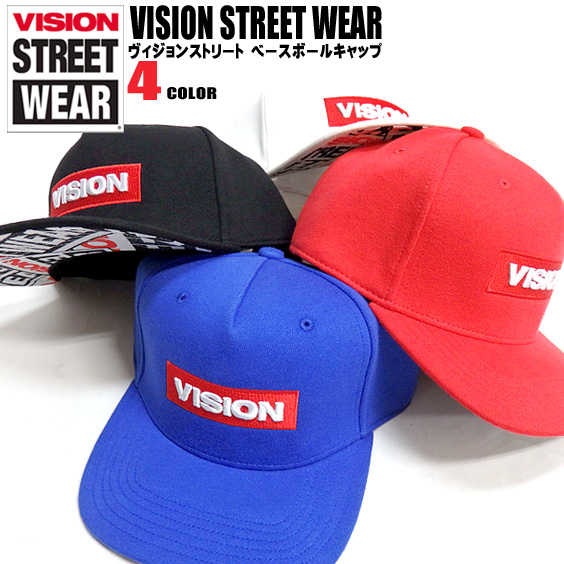 a127ef1874d Stereoscopic VISION Hat VISION STREET WEAR Cap Vision Streetwear hoodies  front box logo embroidered collar pattern design with fashionable and cool.