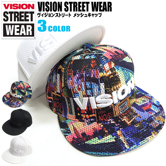 36cd7f70 The three-dimensional brand logo embroidery of VISION hat VISION STREET  WEAR cap men ...
