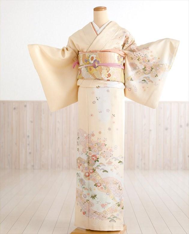2018年入荷 正絹訪問着きれいな色柄が着る人をさらに上品に見せます 七五三 入学式 結婚式 お宮参り おすすめ特集 卒業式 5%OFF 母 着物レンタル hw1337 黄色クリームに慶びの古典縁起華 訪問着レンタル 付下げ 母親 753 人気 fy16REN07 結納 正絹 訪問着フルセット ママ 貸衣装 お茶 kimono 卒園式 houmongi