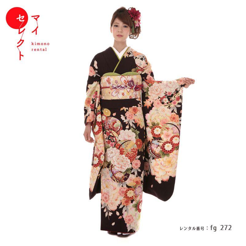 【レンタル】成人式振袖レンタル fg_272 MI-76 華灯