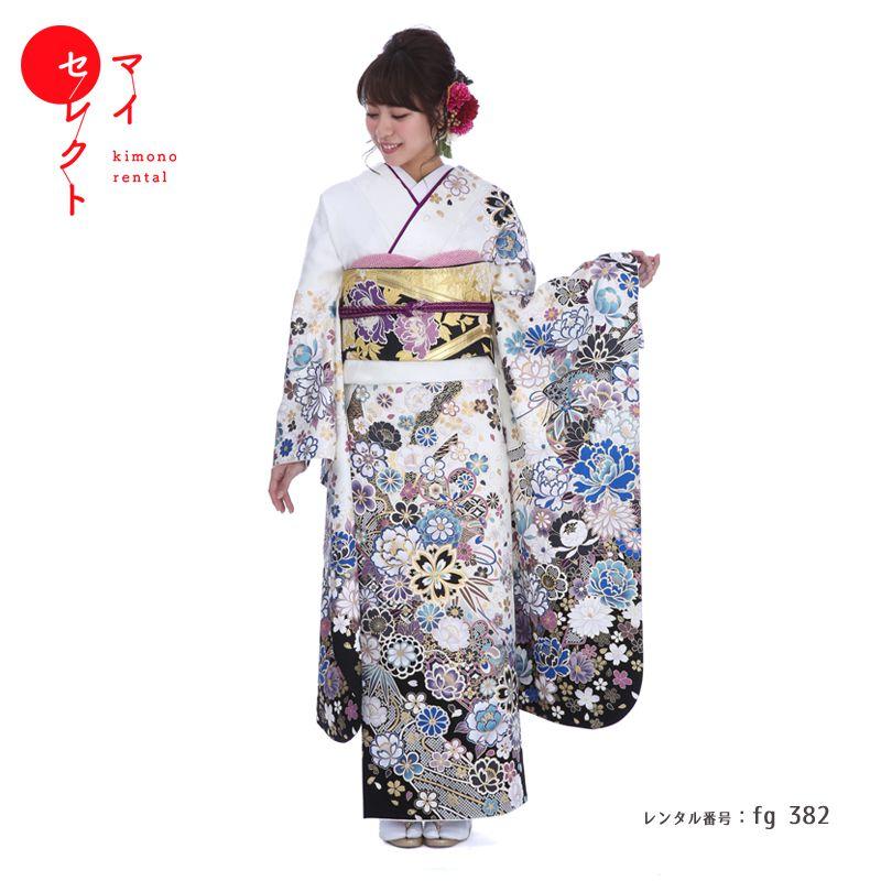 振袖 レンタル fg_382b 【レンタル】