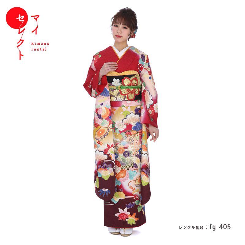 振袖 レンタル fg_405 【レンタル】