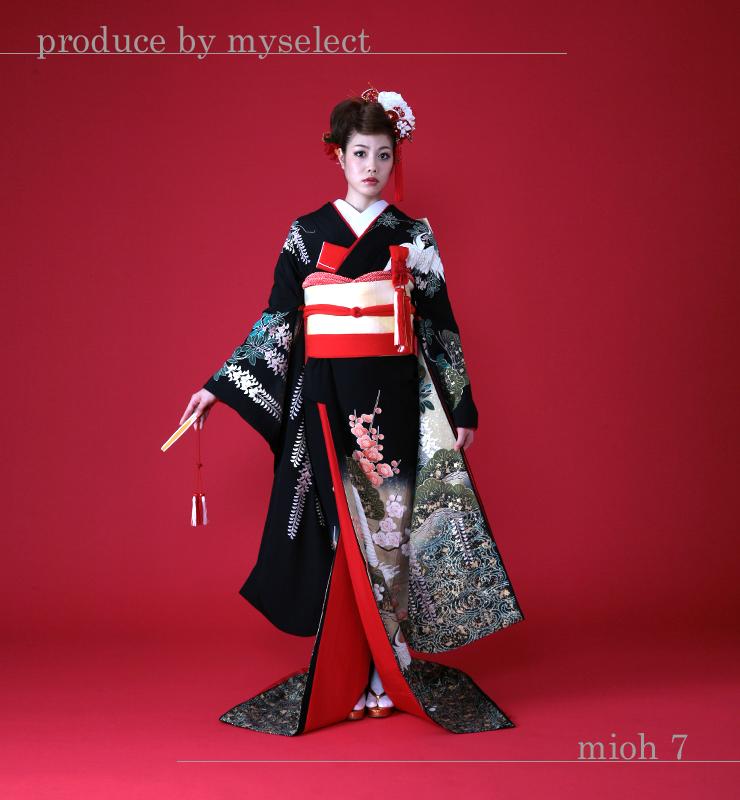 引き振袖レンタル mioh_7 結婚式 神前式 高級 フルセット 往復送料無料