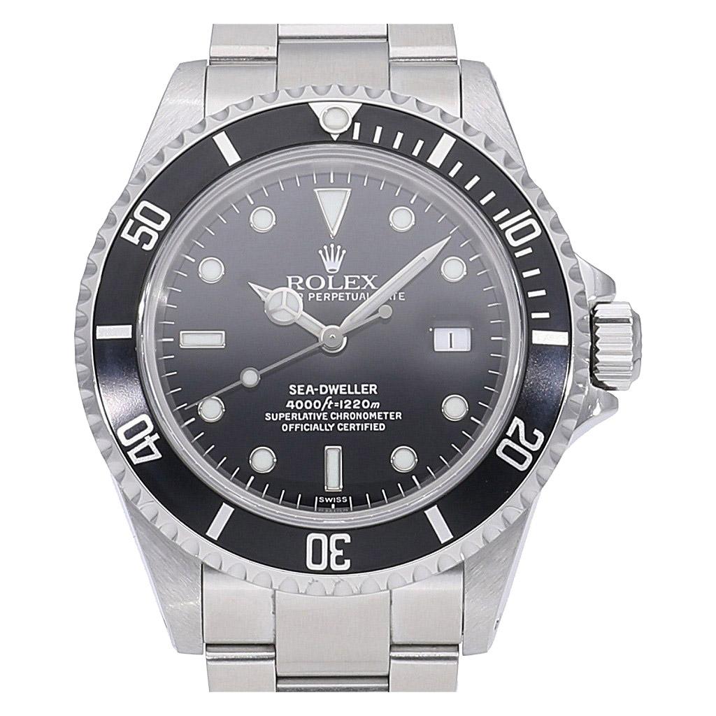 [6/4 20時~ スーパーSALE 割引クーポン配布中] ロレックス シードゥエラー 16600 U番 中古 メンズ(男性用) 送料無料 腕時計