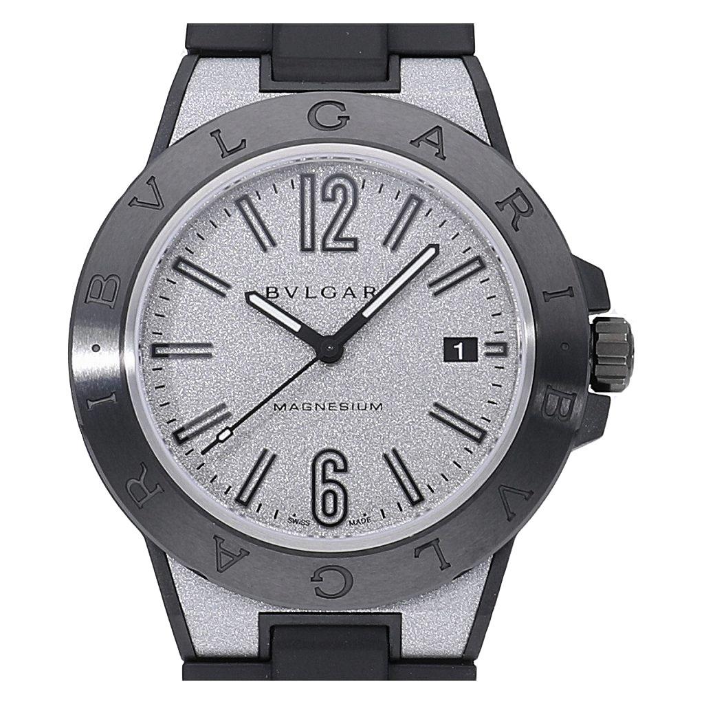 中野ブロードウェイの時計専門店 れんず BVLGARI 中古品 ブルガリ ディアゴノ 5%OFF マグネシウム 送料無料 メンズ 男性用 一部予約 DG41C6SMCVD 中古 腕時計