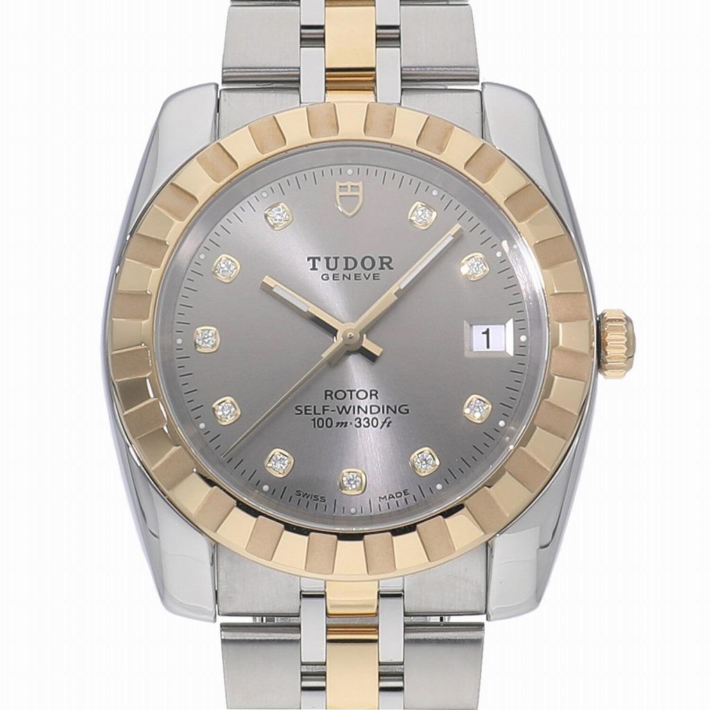 中野ブロードウェイの時計専門店 れんず TUDOR 新品 チューダー クラシック 21013G 新商品 腕時計 男性用 送料無料 正規激安 デイト メンズ