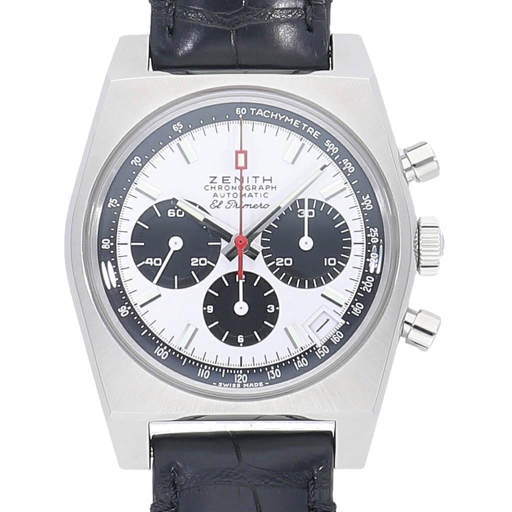 中野ブロードウェイの時計専門店 れんず ZENITH 新品 ゼニス エルプリメロ A384 リバイバル 21.C815 安値 送料無料 03.A384.400 エルプリメロ50周年記念モデル 男性用 人気商品 腕時計 メンズ